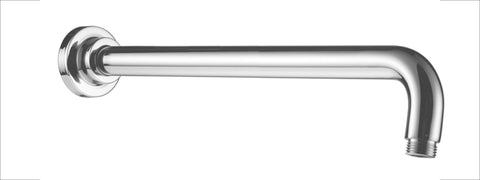 "Polished Chrome Round Wall Mounted 20"" Shower Arm"