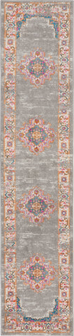 Passion 10' Runner Grey Vintage Area Rug