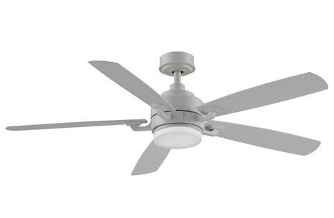 Benito v2 - 52 inch Ceiling Fan - Matte White with LED Light Kit Fans Fanimation Matte White