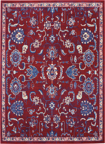 Grafix 5' x 7' Red Persian Area Rug