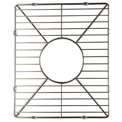Stainless steel kitchen sink grid for small side of AB3618DB. AB3618ARCH