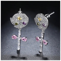 The Bliss Earrings Made With Swarovski Crystals E3