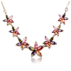 The Gaby Necklace With Swarovski Crystals S25