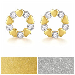 The Kesi Earrings With Swarovski Crystals S26