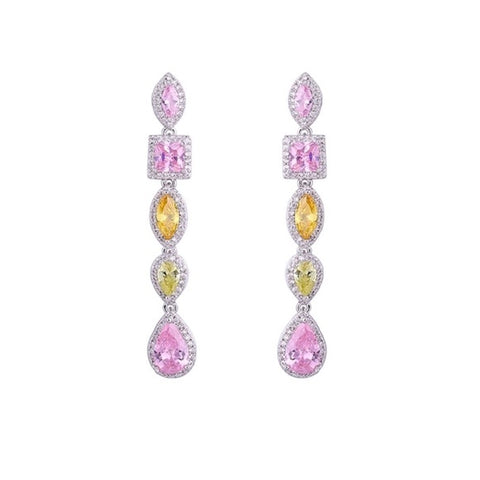 The Avri Earrings Made Using Swarovski Crystals S28
