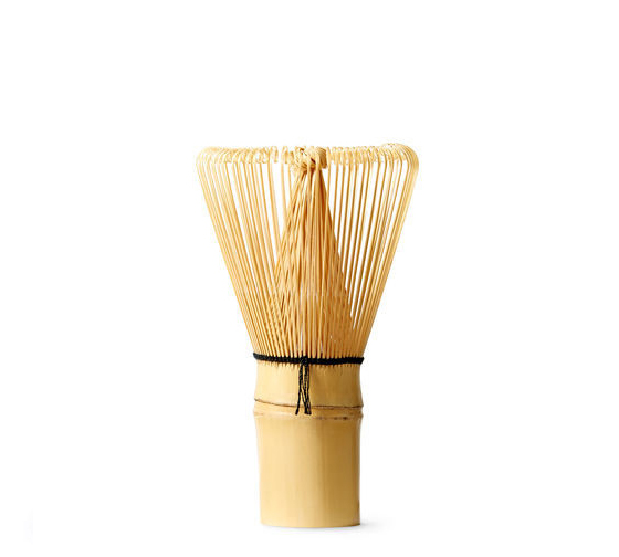 Chasen (Bamboo Tea Whisk) makes the perfect crema