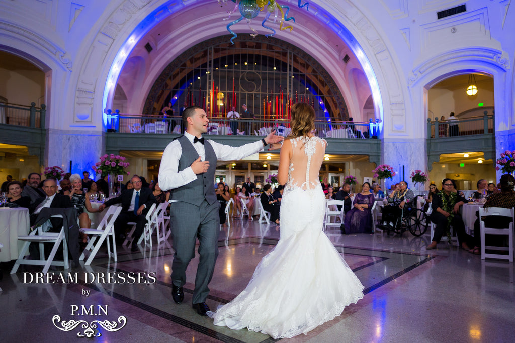 Sins's wedding-Custom wedding dress-Dream Dresses by PMN