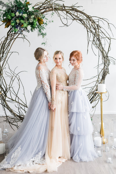 Custom Wedding gowns-Dream dresses by pmn