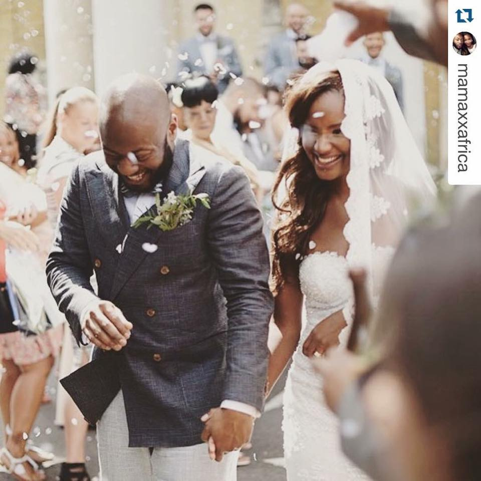 Sneak Peek Of Africa and Jermel's Wedding in London Last Weekend