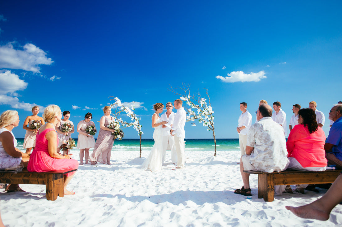 Nicole's Beautiful Beach Wedding