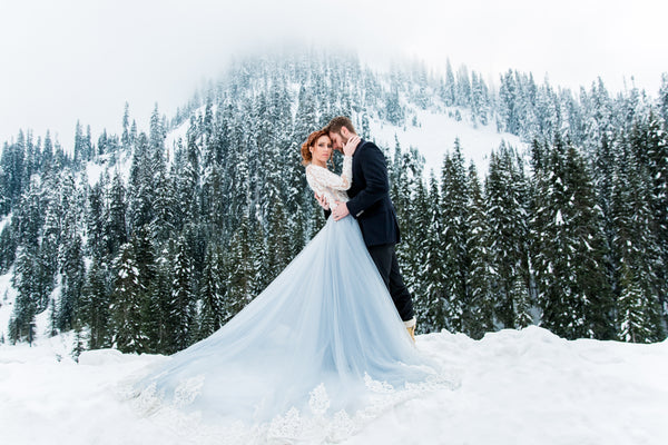 winter bridal styled shoot-Dream Dresses by PMN