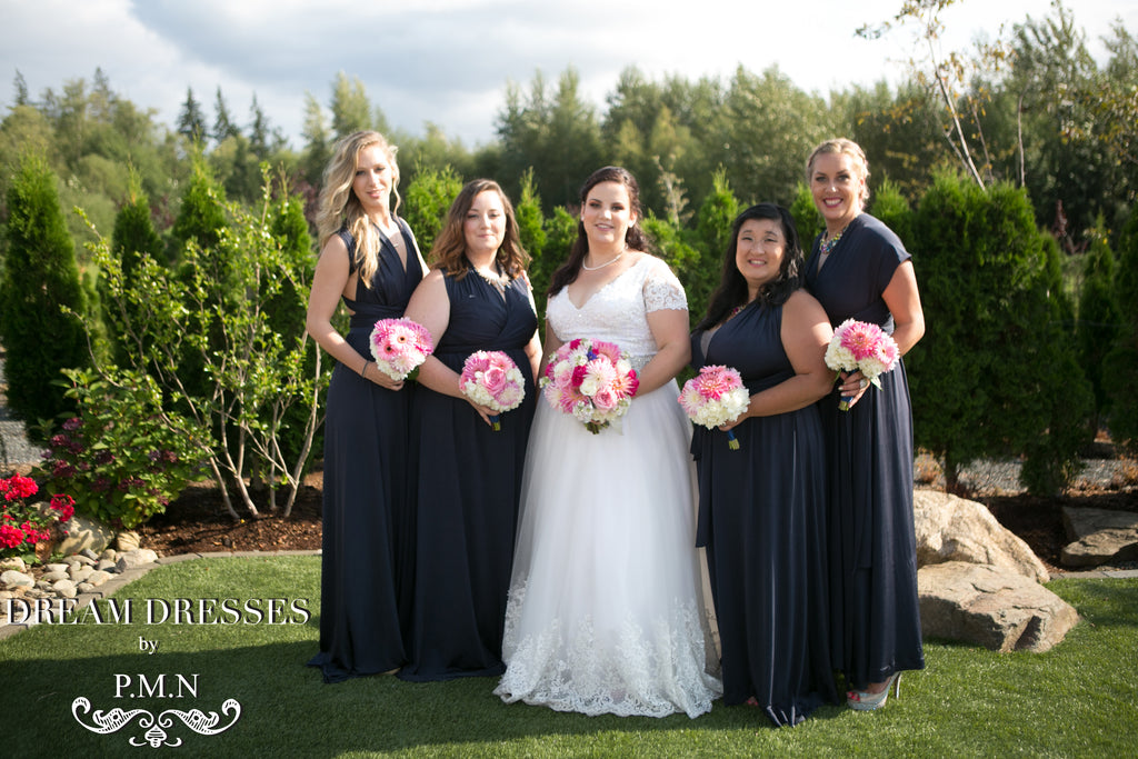Custom wedding dress-Dream Dresses by PMN-Amanda's wedding