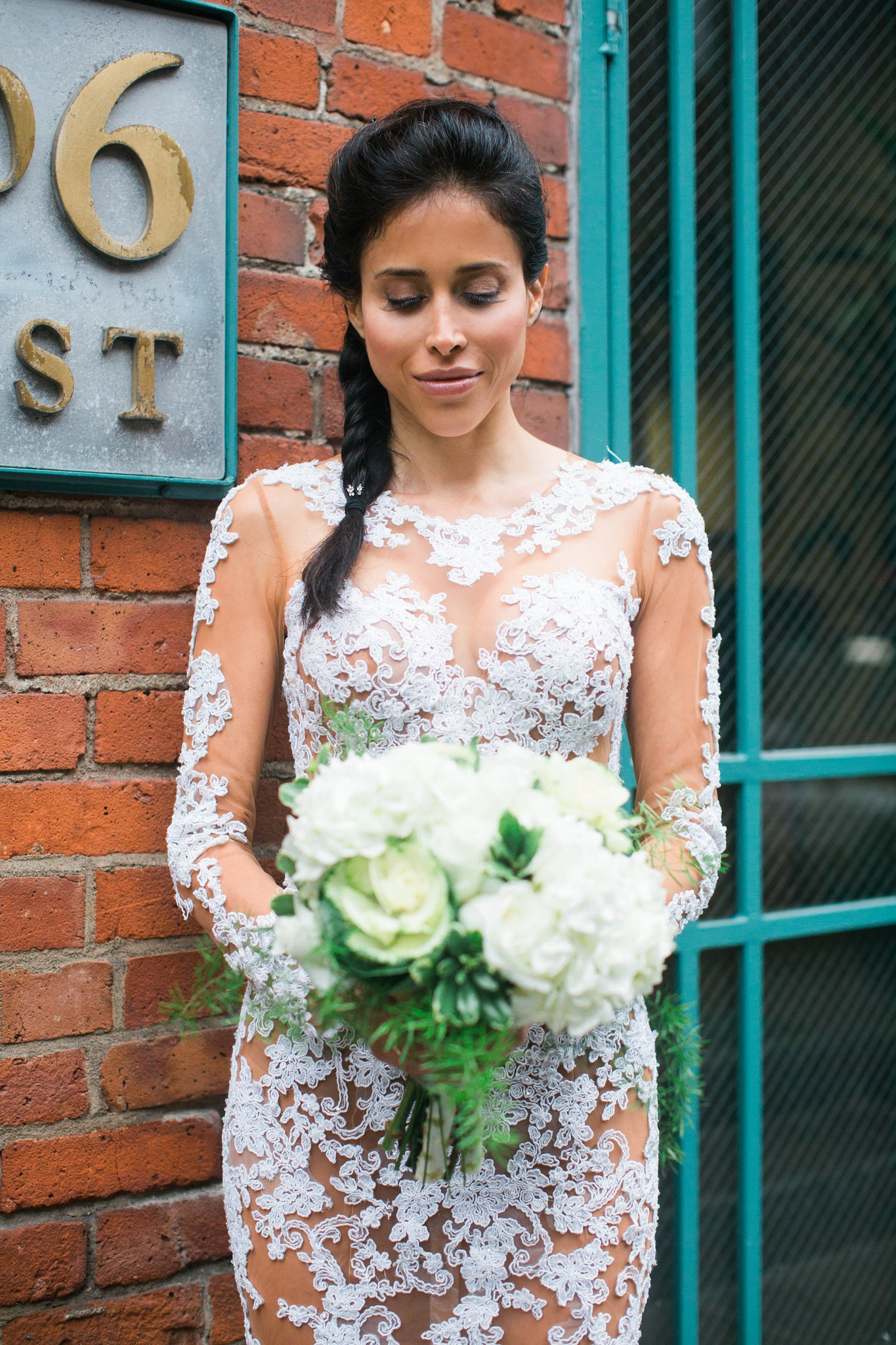 nontraditional wedding dress