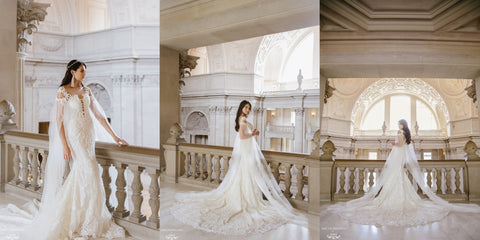 "Dear Gray Magazine Issue 4 featured Dream Dresses by PMN ""Venetian Couture Styled Shoot"""