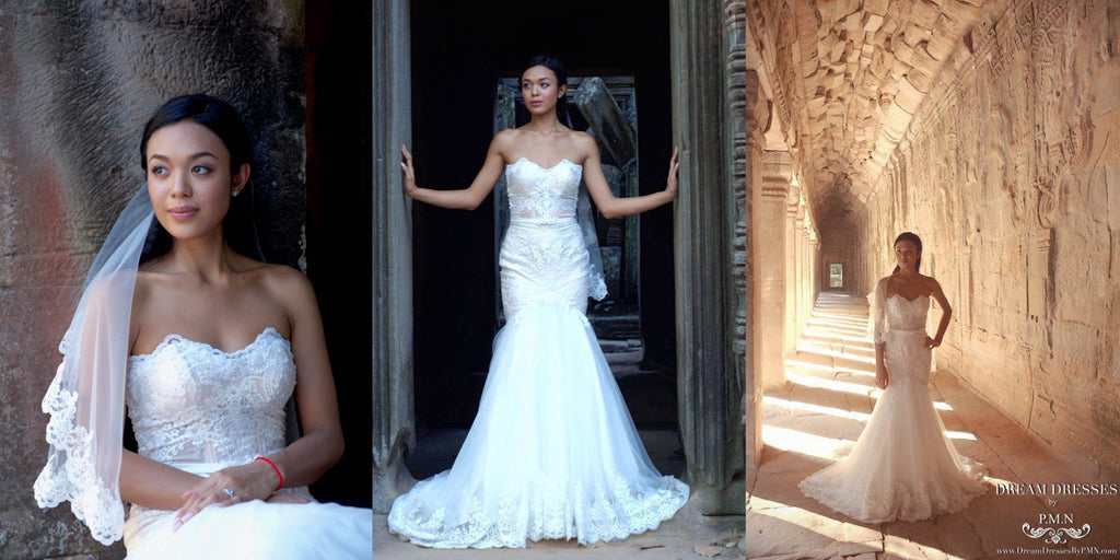 custom wedding dress-Dream Dresses by PMN