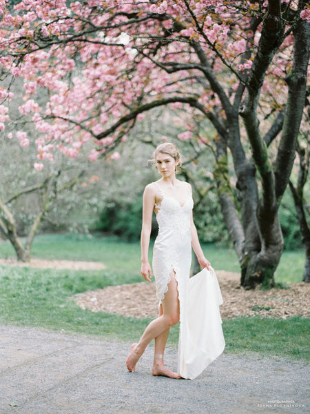 Dream Dresses by PMN-Split Wedding Dress