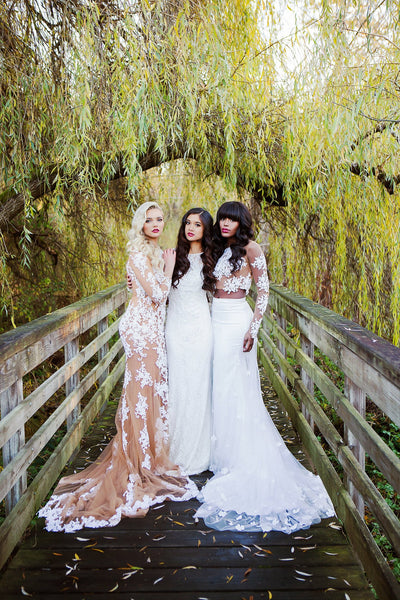 dream dresses by pmn non traditional wedding dress custom bridal couture