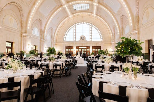 Wedding at the Great Hall at Union Station in Seattle