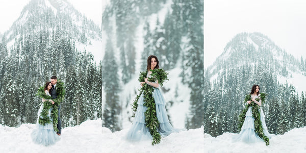 Custom Wedding Dress-Custom ball gown-Dream Dresses by PMN-Winter Wedding photography