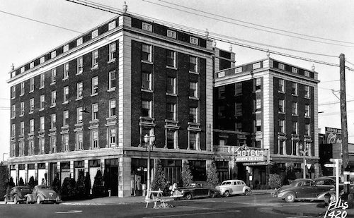 Historic Monte Cristo Hotel in Everett