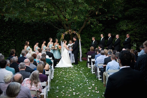 Robinswood House Wedding Ceremony