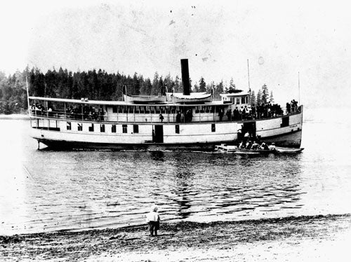 The Historic Virginia V Steamship