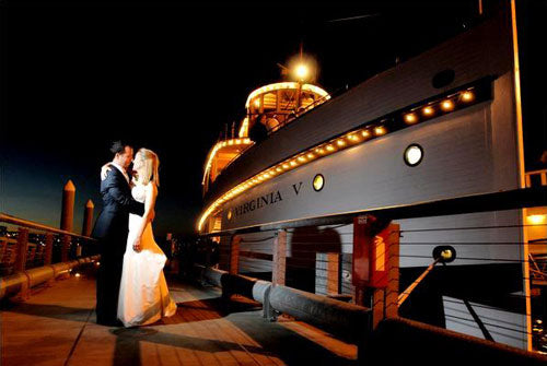 Steamship Virginia V Wedding
