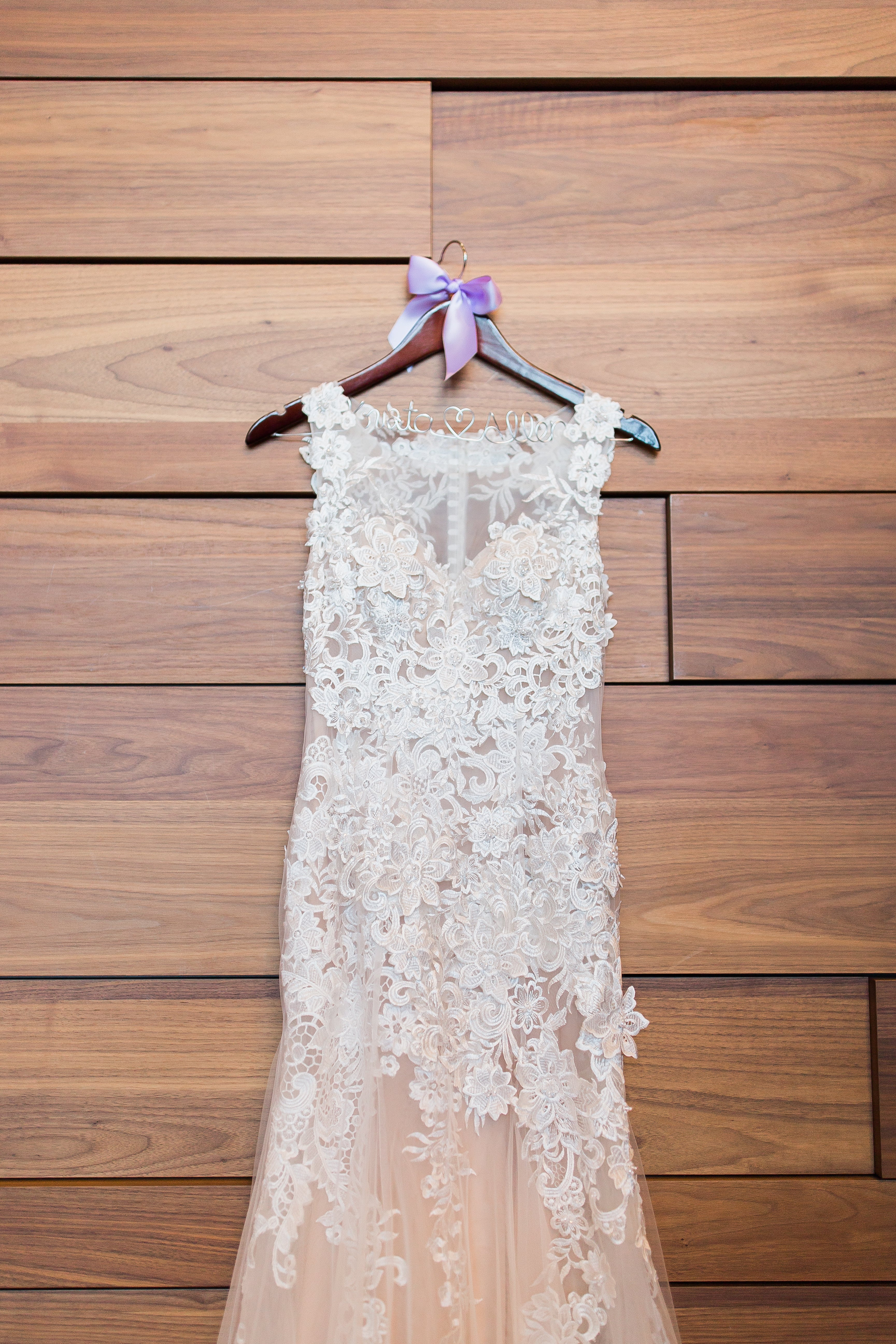 Lace and Tulle Sheath Wedding Dress (#Krista)