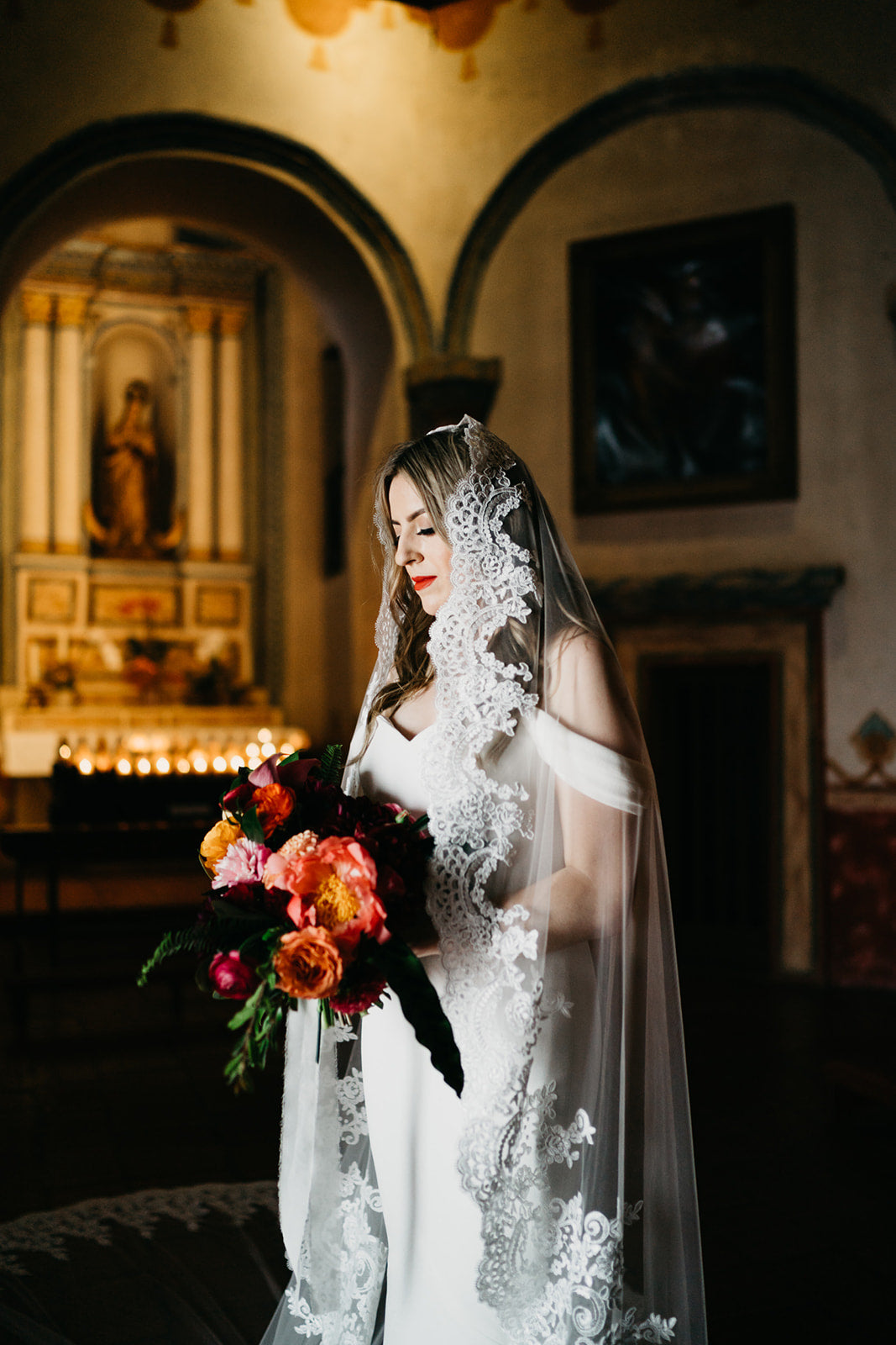 Cathedral Mantilla Veil (#Ari)