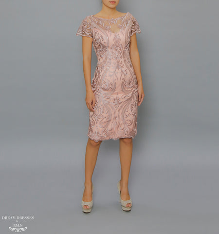 Knee Length Mother of The Bride Dress (#Camilla)