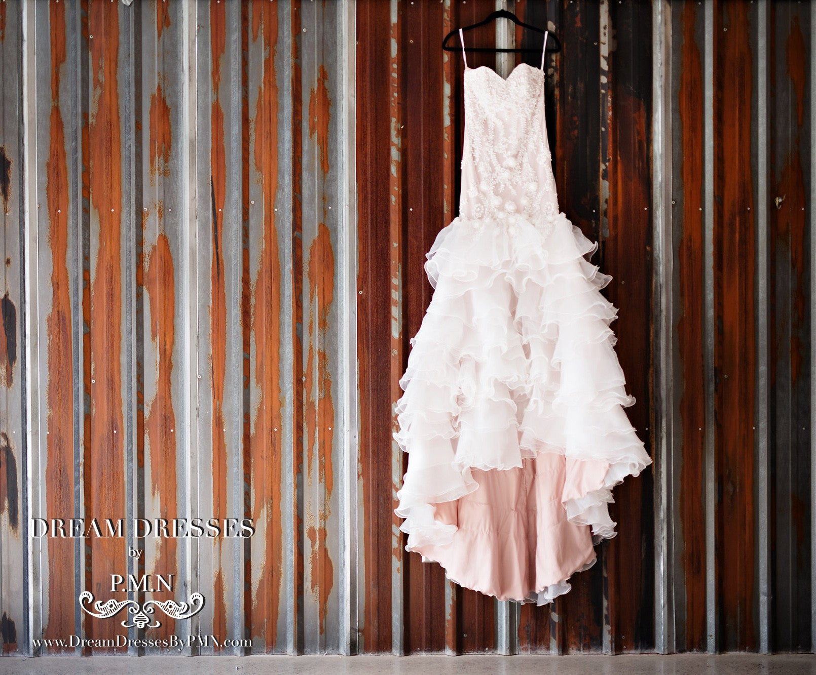 Tiered Trumpet Wedding Dress (#Maddy)