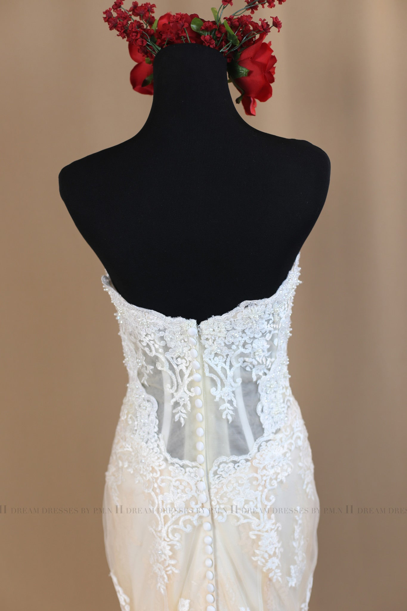 Lace Mermaid Wedding Dress (#Nicole)