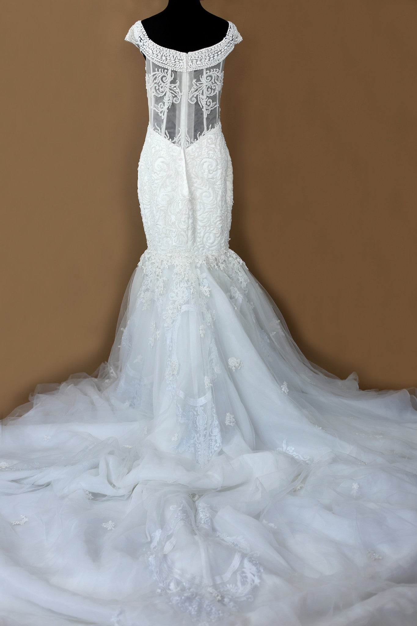 Haute Couture Mermaid Wedding Dress (#Sequoria)