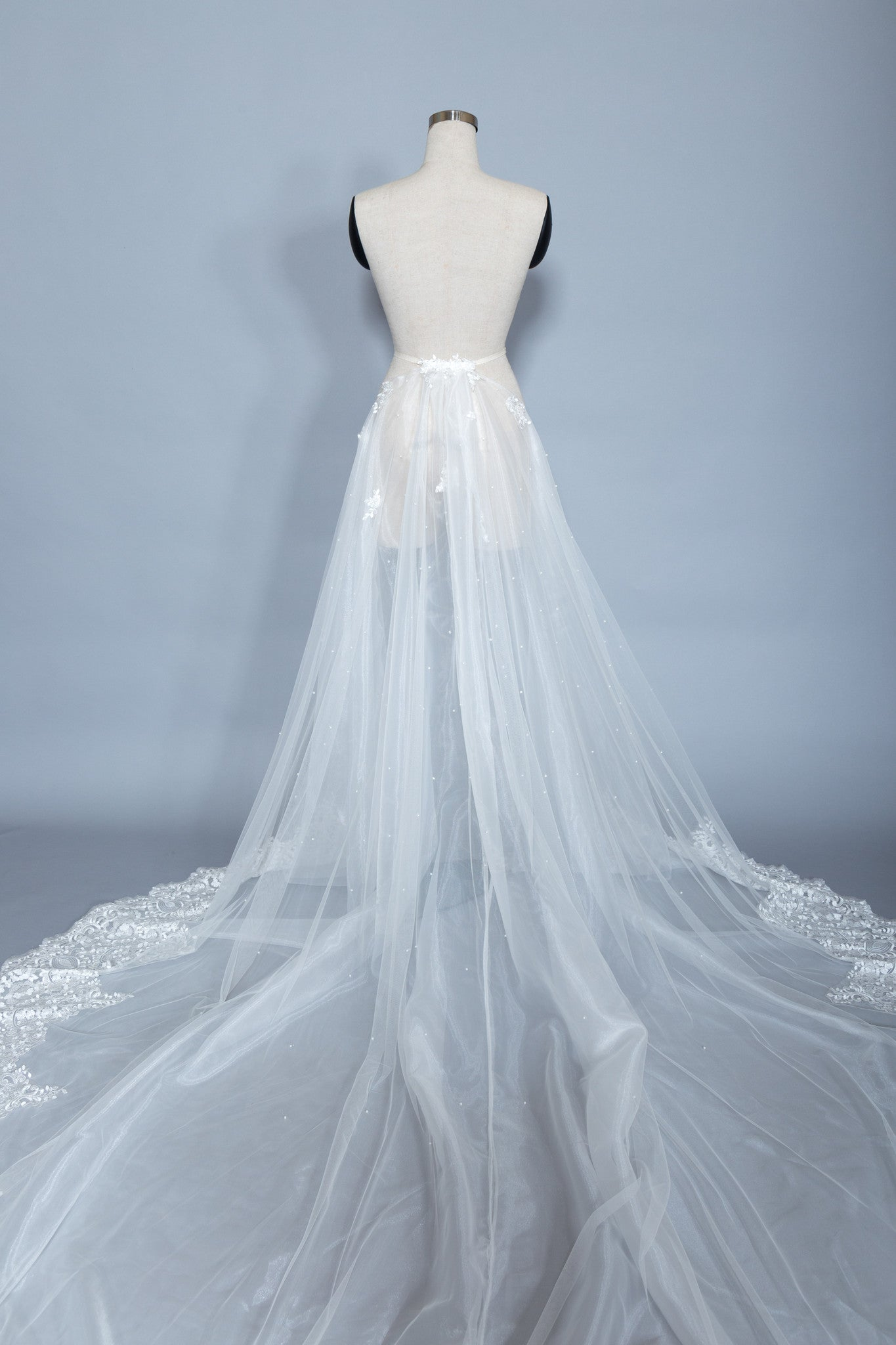 Detachable Lace Wedding Train (#Beryl) - Dream Dresses by P.M.N  - 7