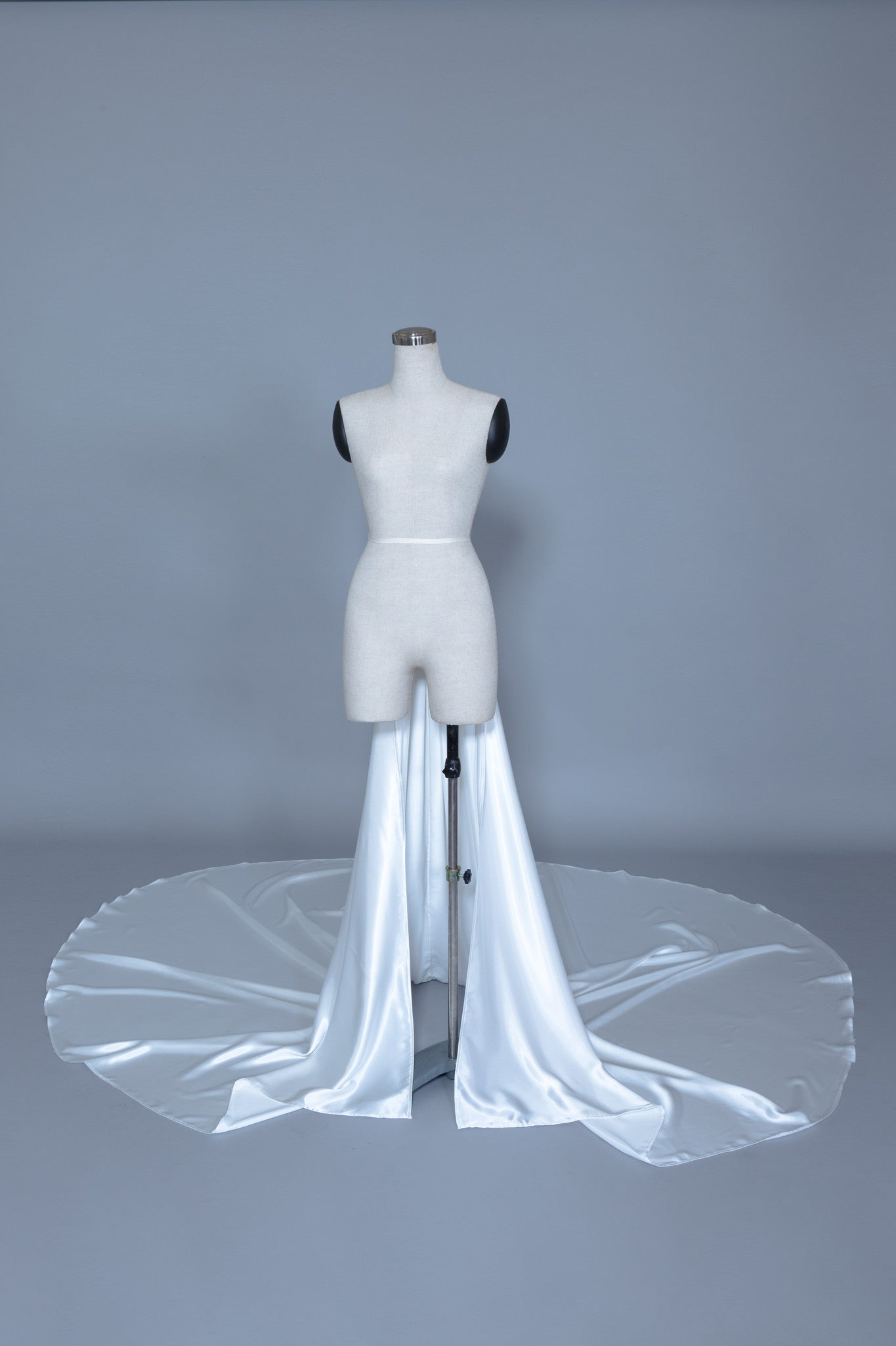 Detachable Satin Wedding Train (#Calixta) - Dream Dresses by P.M.N  - 1