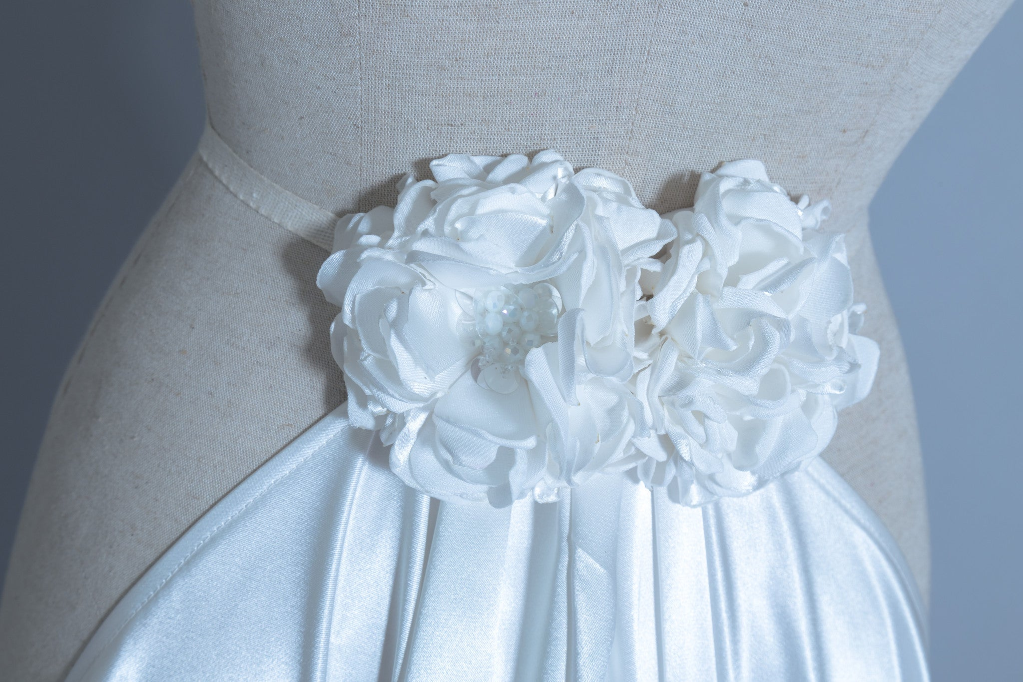 Detachable Satin Wedding Train (#Calixta) - Dream Dresses by P.M.N  - 6