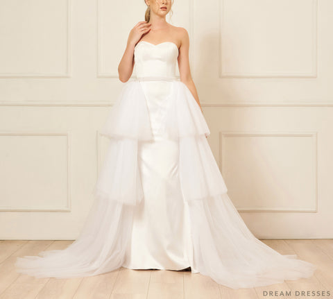 Removable Tiered Overskirt (#Iva)