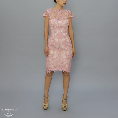 Knee Length Mother of The Bride Dress (#Karina)