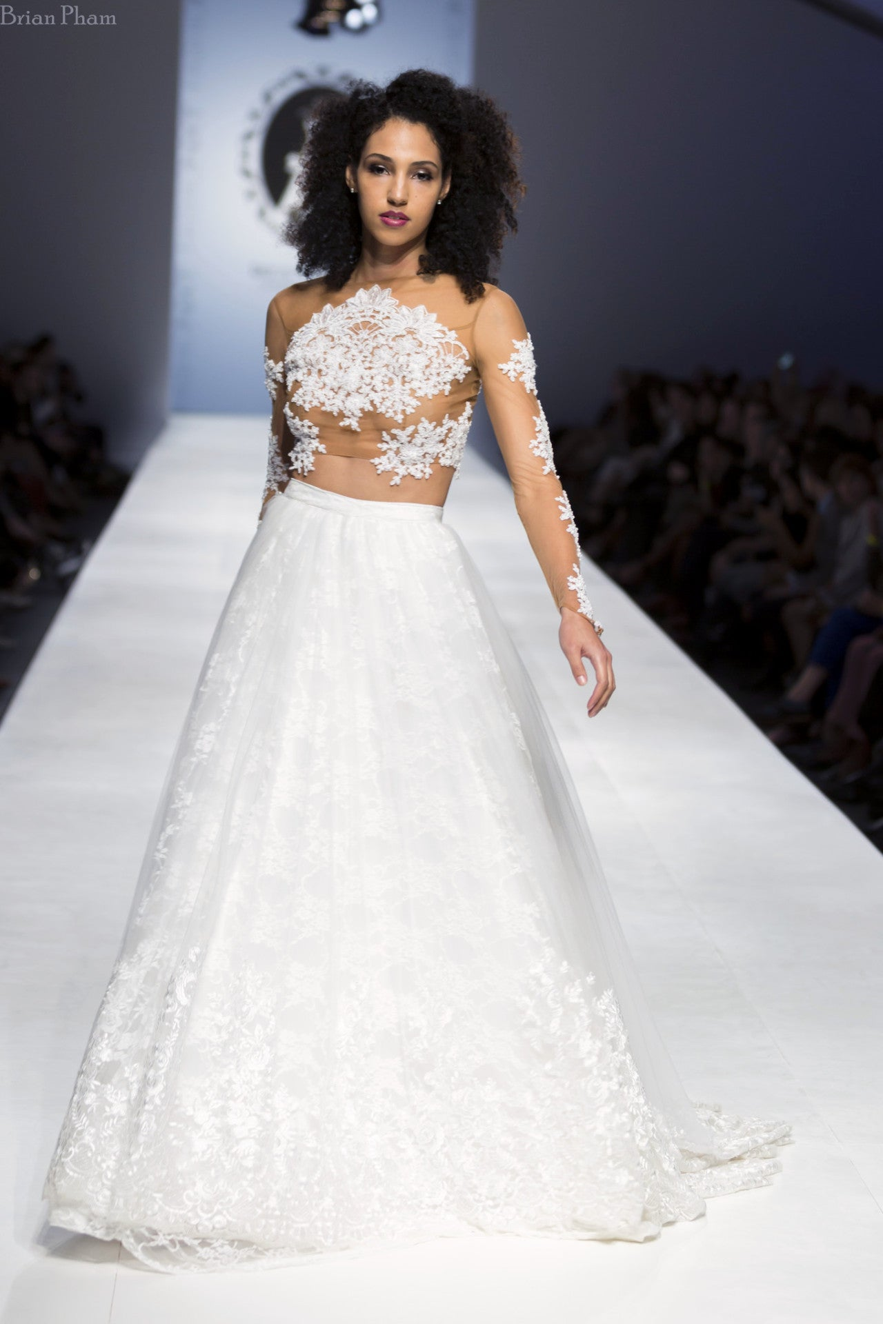 Detachable Ball Gown Skirt With Chapel Train (Style #PB162) | Dream ...