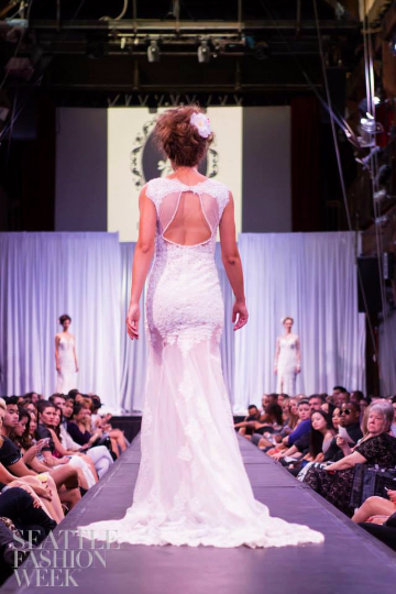 SAMPLE SALE/ Sexy Sheer Mermaid Wedding Dress (#Kyra)