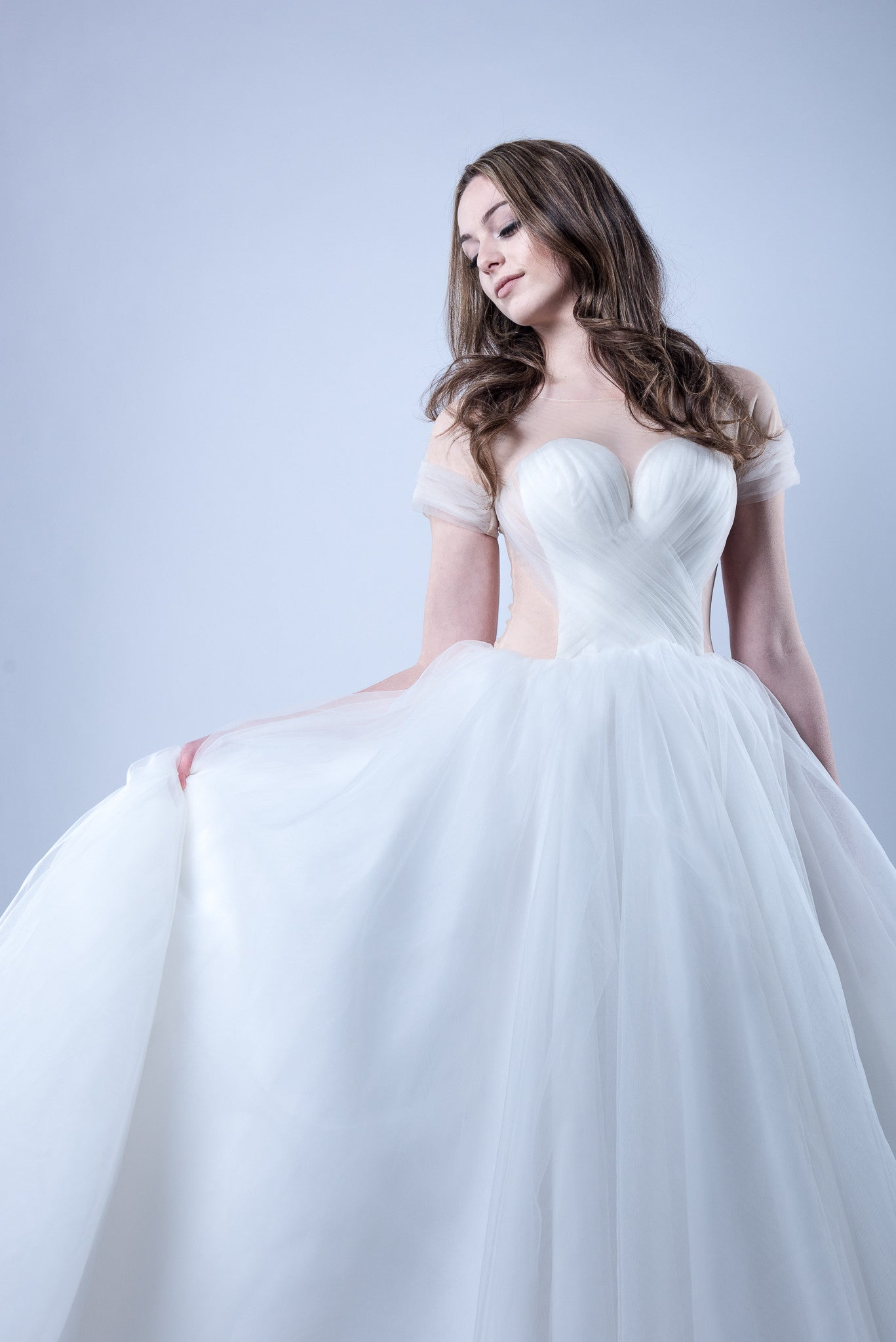 Tulle Ball Gown Wedding Dress (#Kennadie) - Dream Dresses by P.M.N  - 2