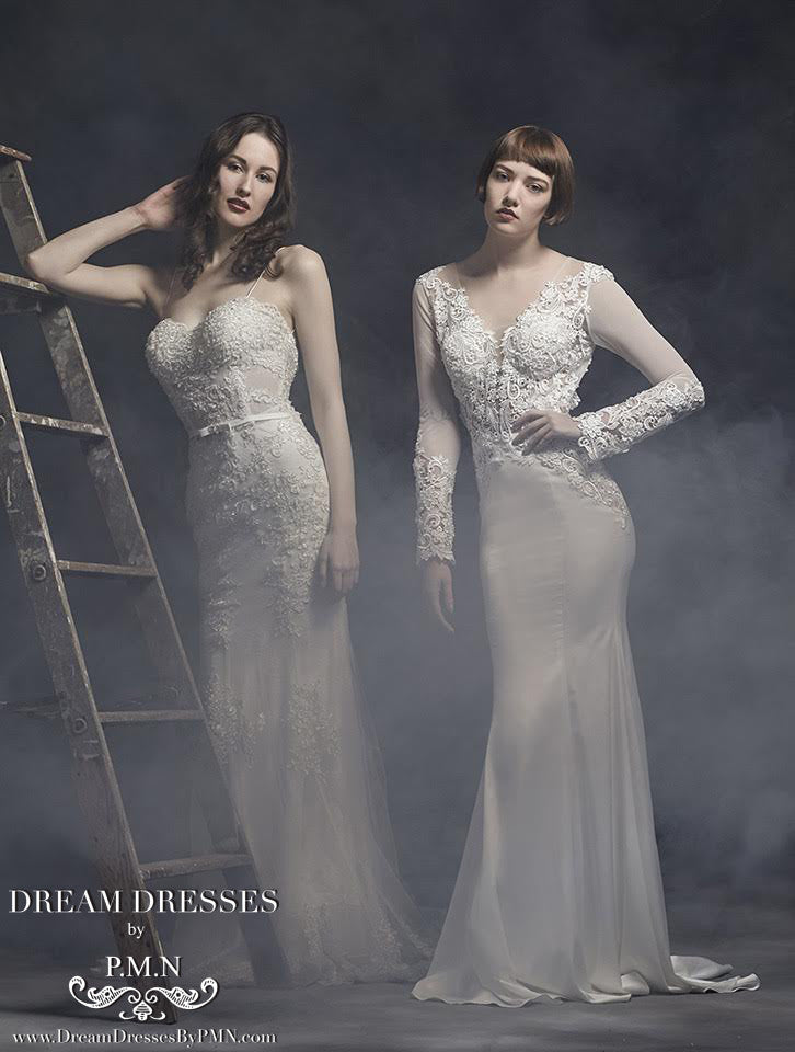 Open Back Mermaid Wedding Dress (Style #SS16311) - Dream Dresses by P.M.N  - 5