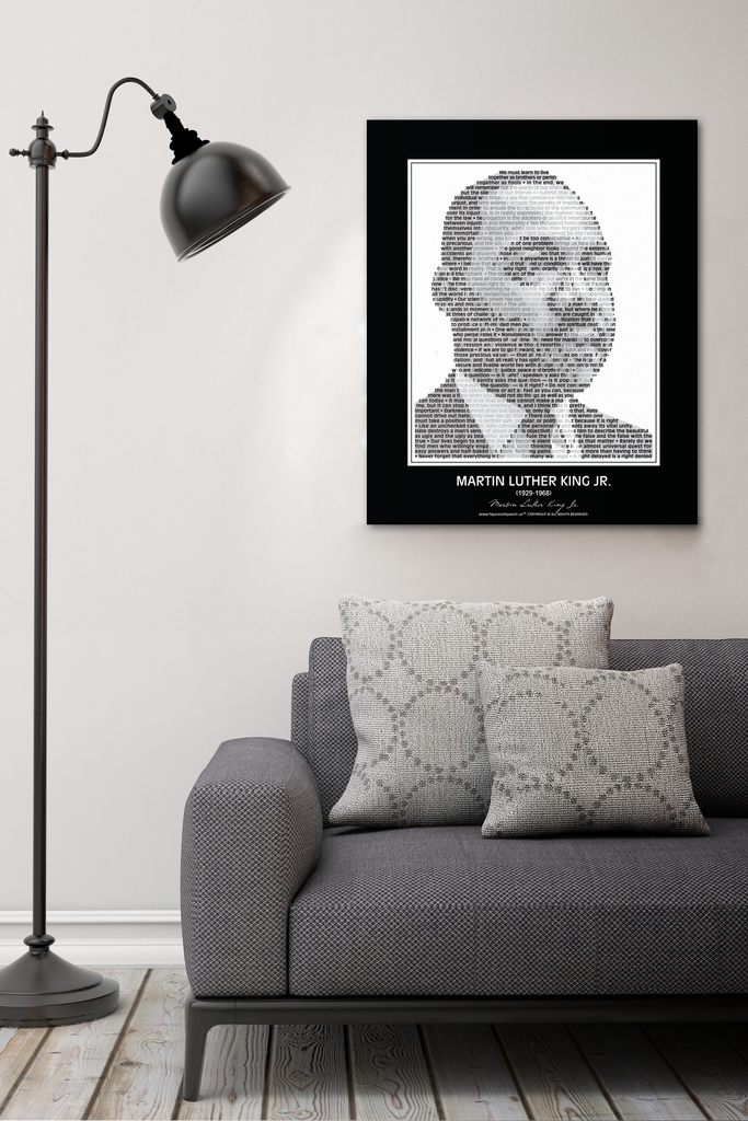 Martin Luther King Jr. Wall Poster