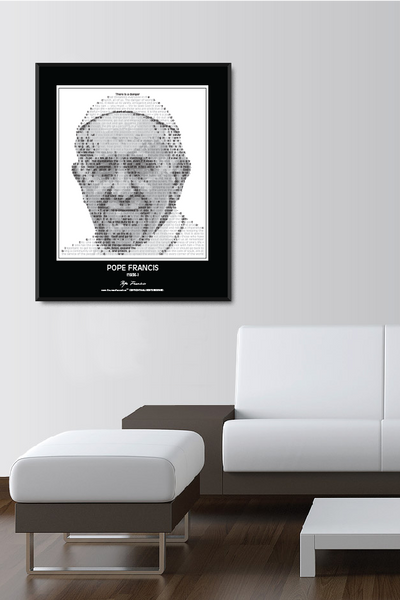 Pope Francis Wall Poster