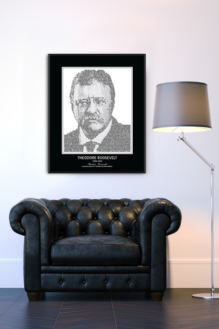 Theodore Roosevelt Wall Poster