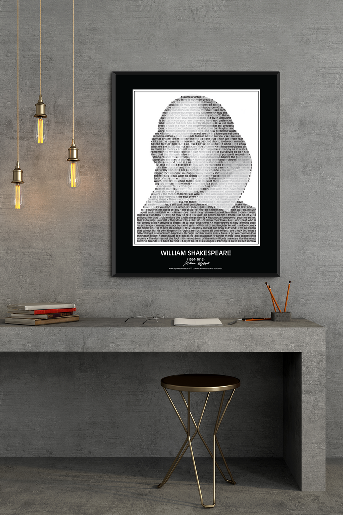 William Shakespeare Wall Poster