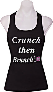 Popfit Crunch then Brunch Tank