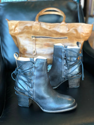 Bedstu Blaire Graphito Rustic Leather Boots