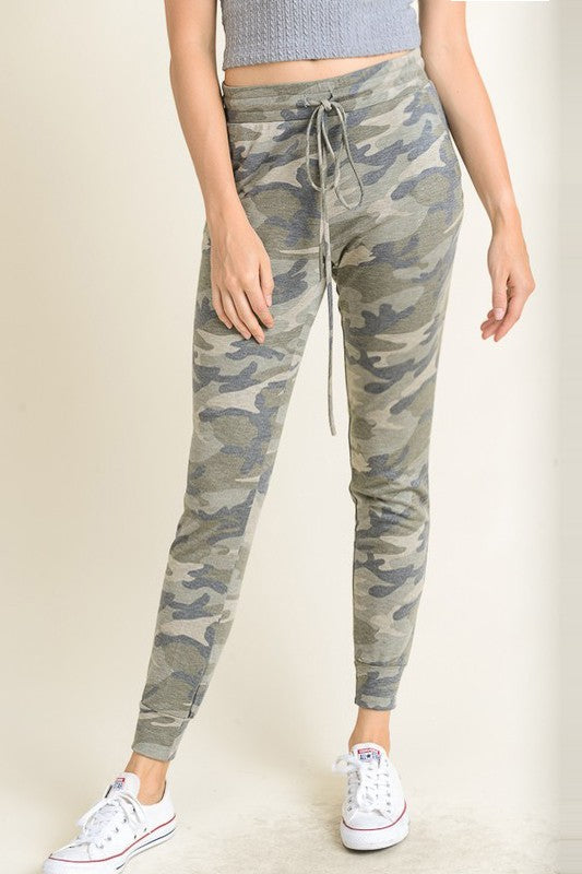 Camo Jogger Pants - tempting-teal-boutique