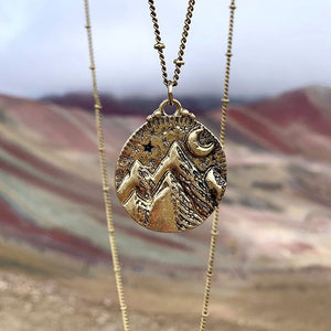 Mountains of the Moon Necklace